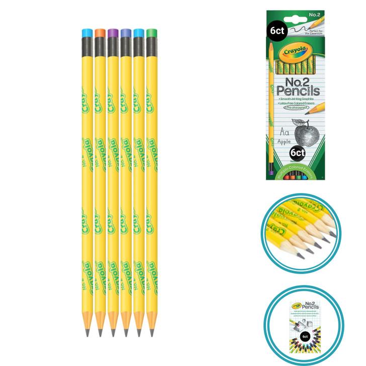 Crayola #2 Wood Pencil