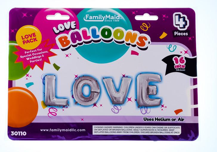 """Valentine's LOVE 16"""" Balloon"""