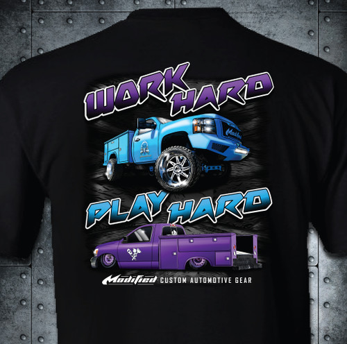 WORK HARD PLAY HARD- SHIPPING INCLUDED IN $