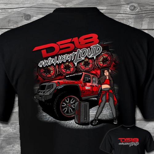DS18 T-Shirt - Gladiator
