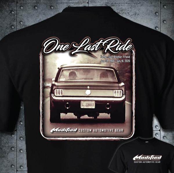 One Last Ride - Brad Page