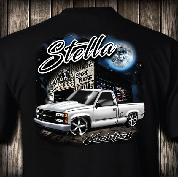 Street Trucks Mag - Stella T-shirt