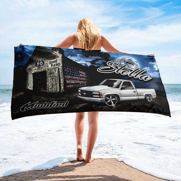 Street Trucks Mag - Stella Beach Towel