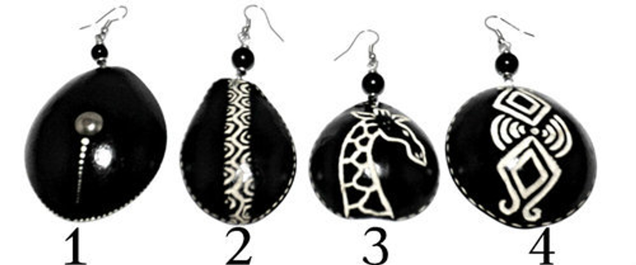 Calabash Earrings