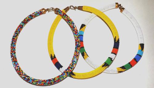 Zulu Beaded Necklaces