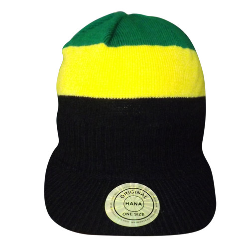 Rasta & Jamaica Winter Caps  Material: 100% Acrylic  One Size Fits Most  Made in China