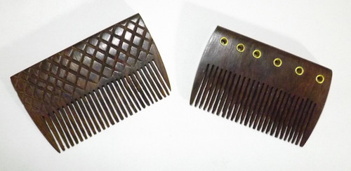 """Wooden Pocket Combs  Handcrafted wooden pocket combs 3-3.5"""" length   Do not use on wet hair.   Handcrafted in India"""
