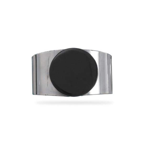 Brown Stone Cuff Bracelet