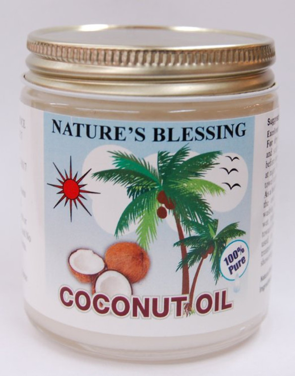 100% pure coconut oil; keep refrigerated for solidity.