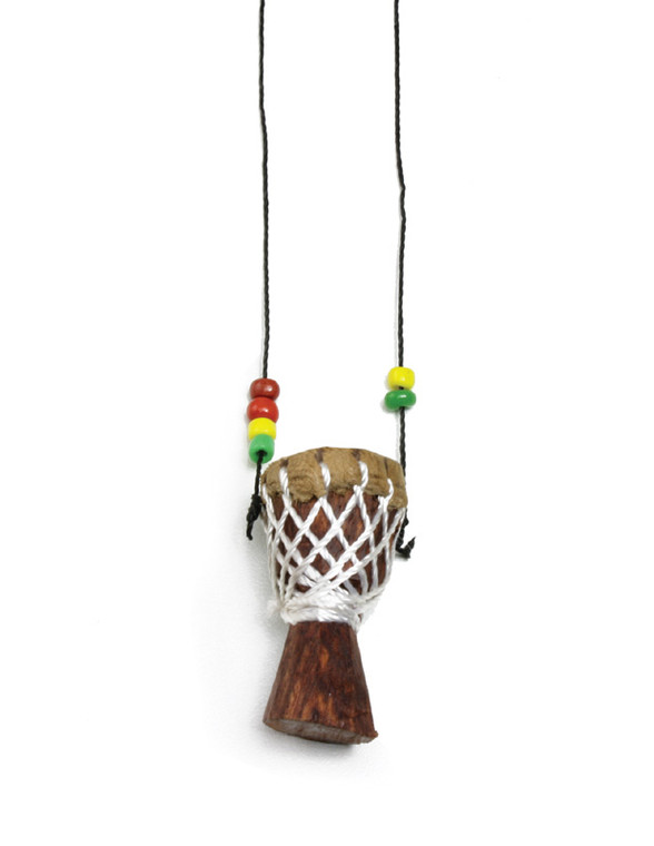Djembe Mini Drum Necklace (Small)