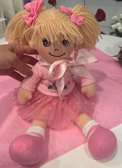 "An Adorable 12"" Doll"