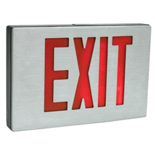Die Cast Exit Sign Red Double Face Only