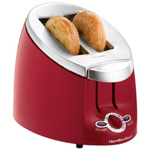 Hamilton Beach  Ensemble™ 2 Slice Bagel Toaster - Red