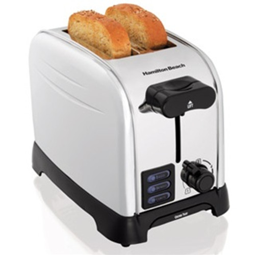 Hamilton Beach  SmartToast® Chrome 2 Slice Toaster