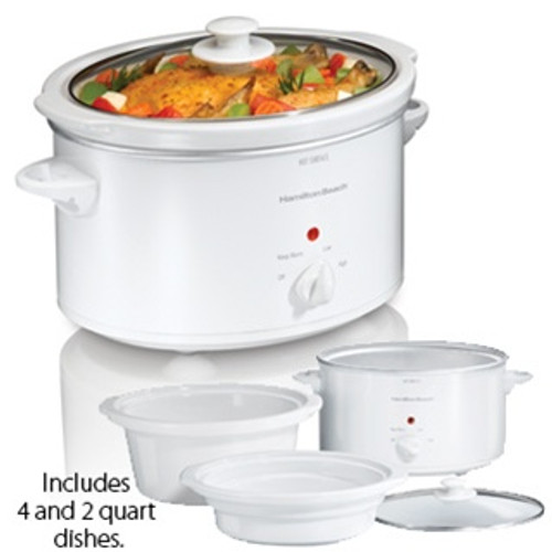 Hamilton Beach  4 Piece Set Slow Cooker