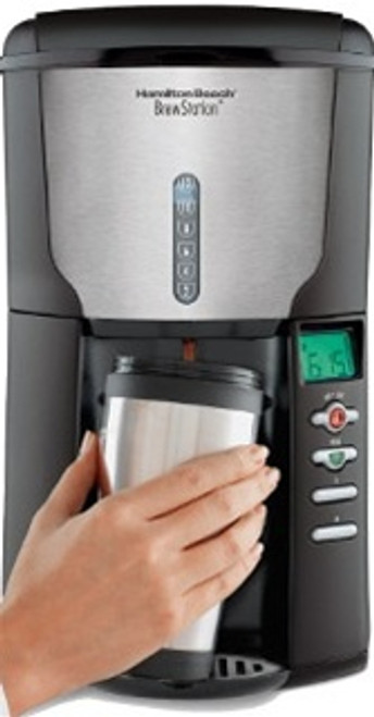Hamilton Beach  BrewStation® Plus 12 Cup Coffeemaker With Timer