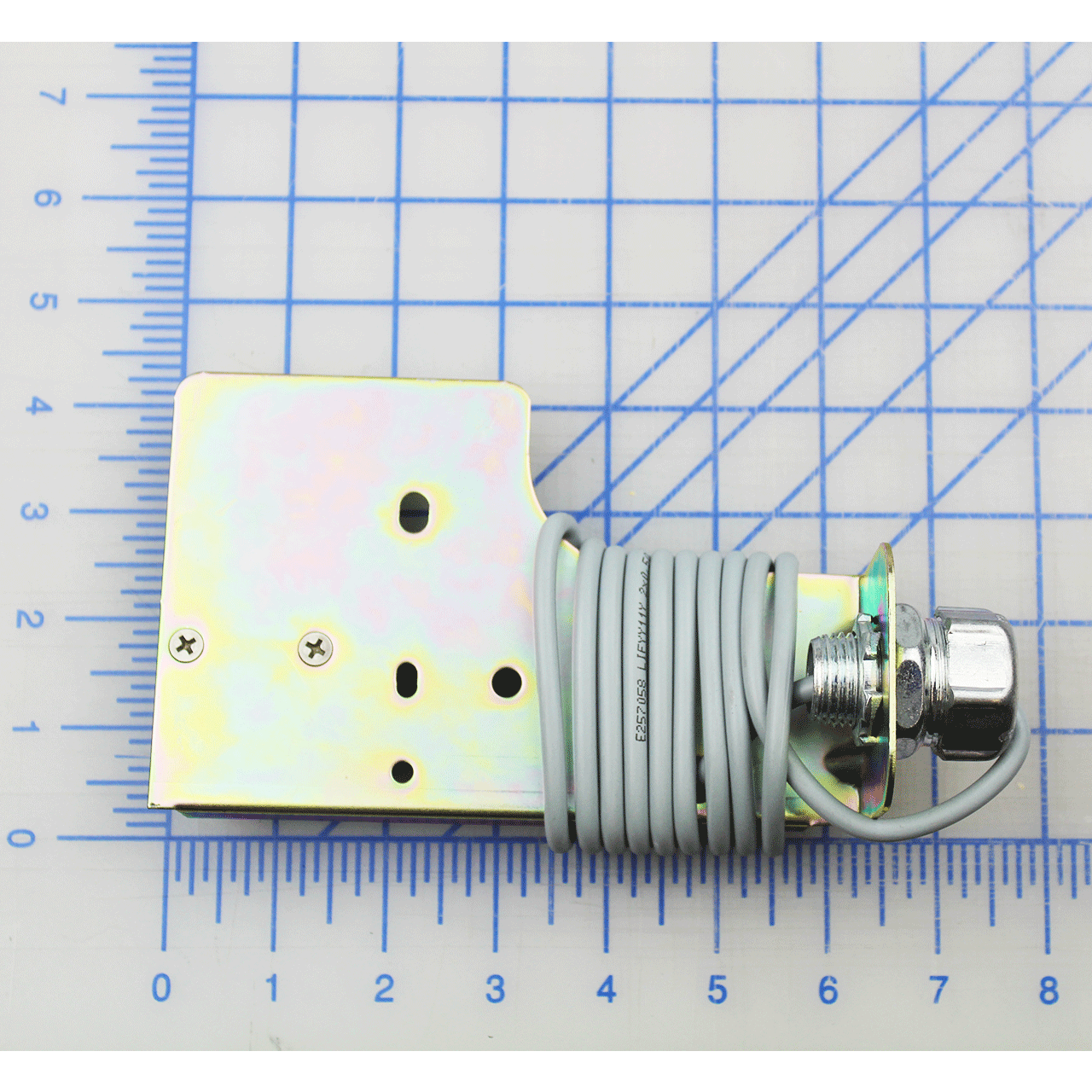 Stored Limit Switch with Bracket, Normally Closed, PowerStop