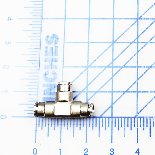 """FITTING PNEUFIT, UNION TEE, 3/8"""" TUBE"""