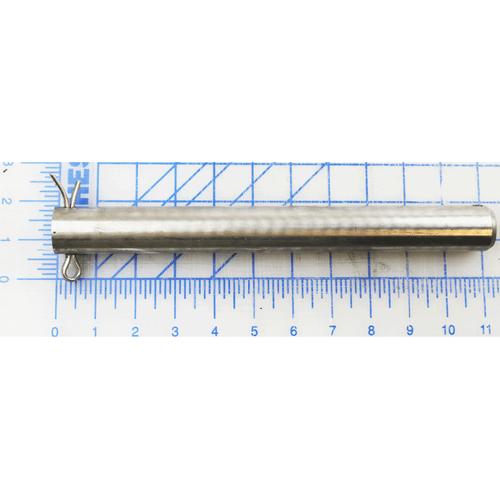 Rear Hinge Pin Stainless Steel, 1-3/16 DIA X 11.00 LG