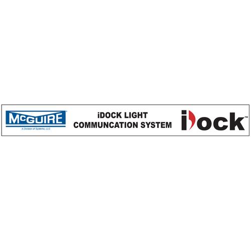 """iDock Light Communication System"" - McGuire Decal"