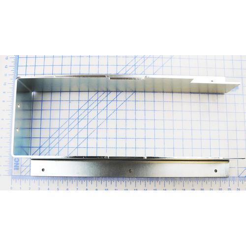 Shroud-Bellows Mounting - Pstop, 7 GA x 11 x 23, Zinc Plated
