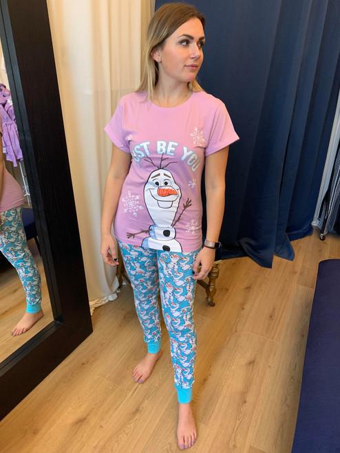 'Just Be You' Frozen Themed Olaf Pyjama Set