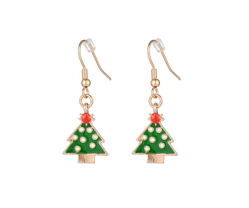 Rockin' Around The Christmas Tree Dangly Earrings
