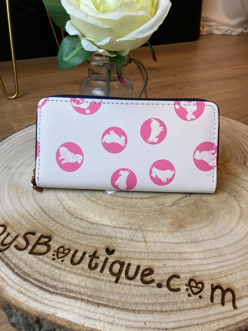 Spot the Dog Pink Printed Large Purse