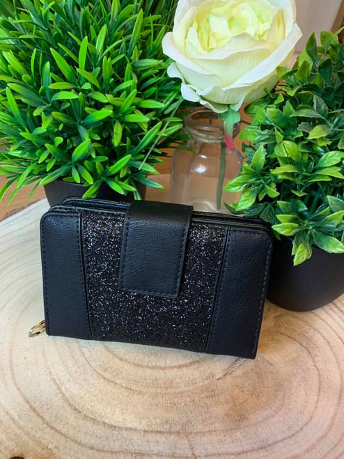 Midnight Sparkle Black Luxury Wallet