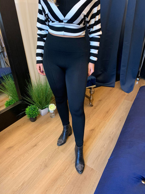 Paparazzi High Waisted Fleece Lined Leggings