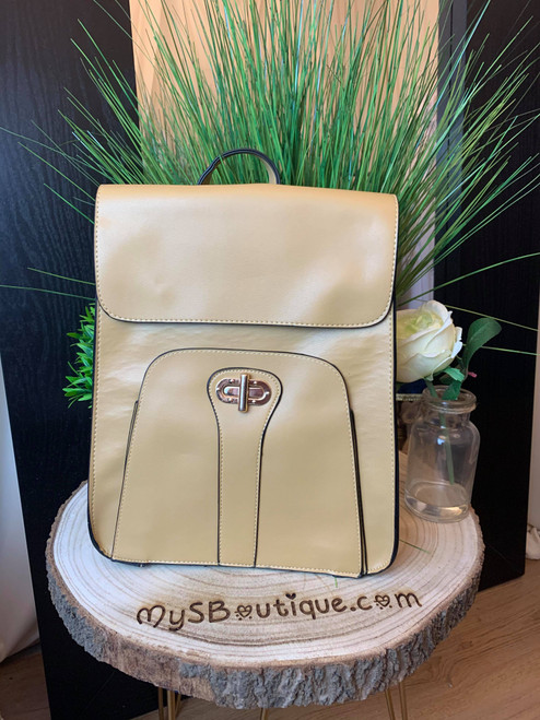 Girl On The Go Putty  Postmans Lock Backpack