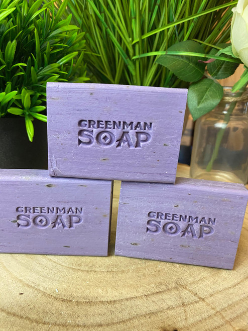 Handcrafted Night Time Lavender & Geranium Natural Soap