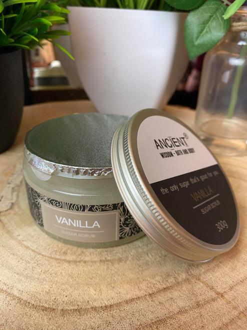 Handcrafted Velvety Vanilla Sugar Body Scrub 300g