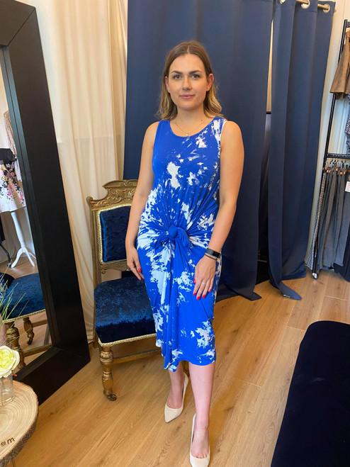 Festival Feels Royal Blue Tie Dye Parachute Maxi Dress