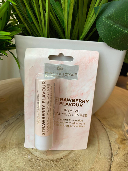 Body Collection Strawberry Smoothie Lip Balm