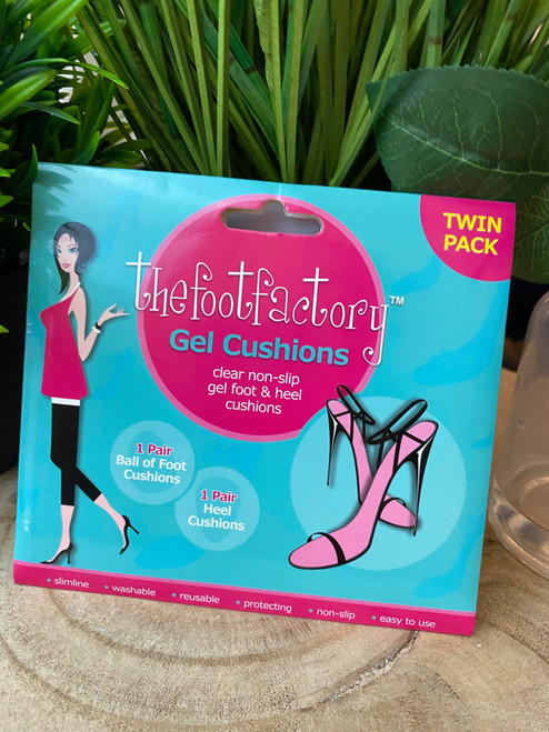 The Foot Factory Gel Cushion Inserts 2 Pairs