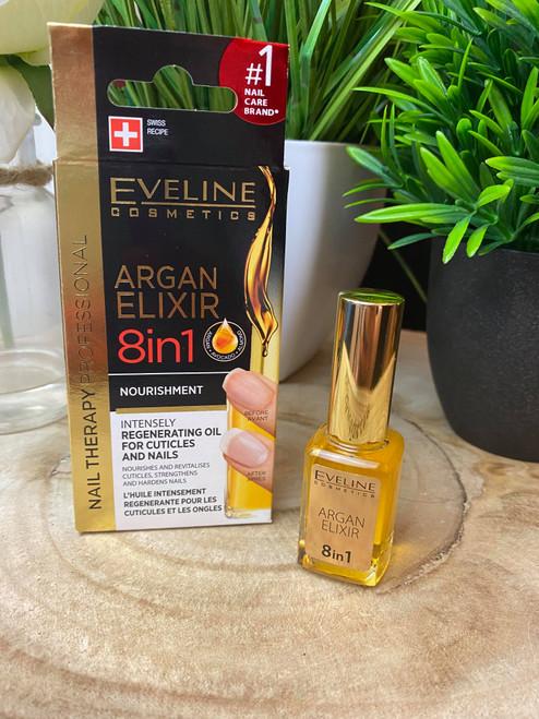 Eveline Argan Elixir 8 in 1 Nail Treatment