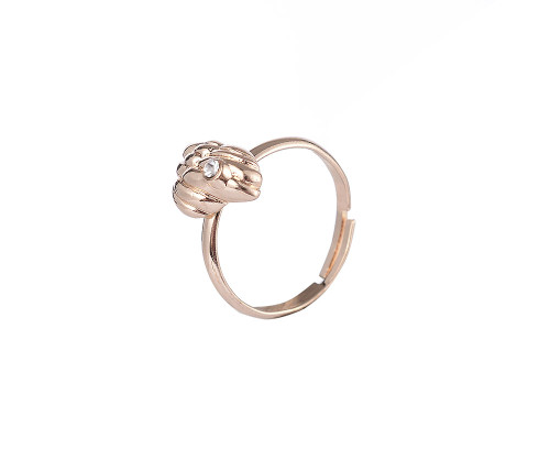 Shell Detail Gold Plated Ring