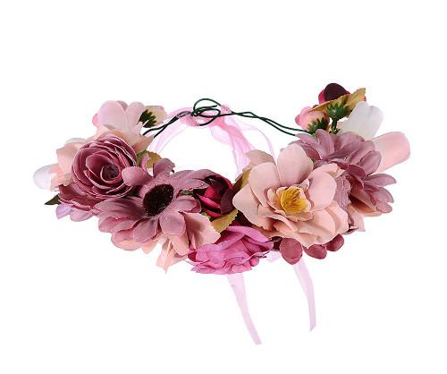 Esmeralda Pink Pastels Flower Garland