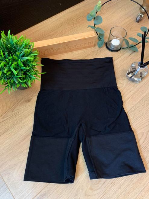 Black Bum, Tum and Thigh Sculpting Body Short