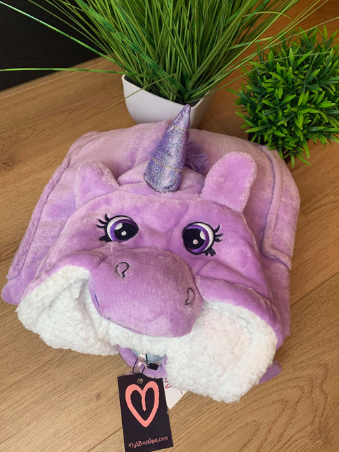 Just Like Magic Supersoft Unicorn Dressing Gown