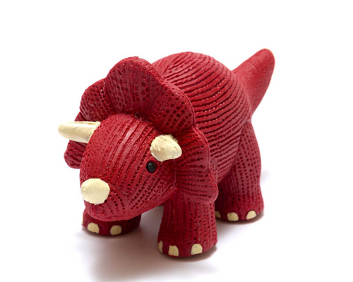 Triceratops Teether