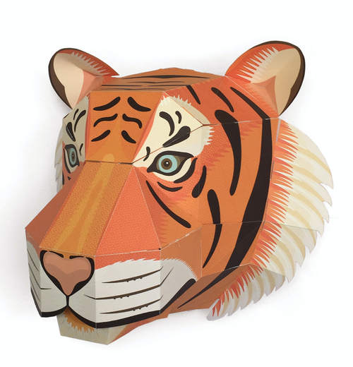 Majestic Tiger Head - Create Your Own