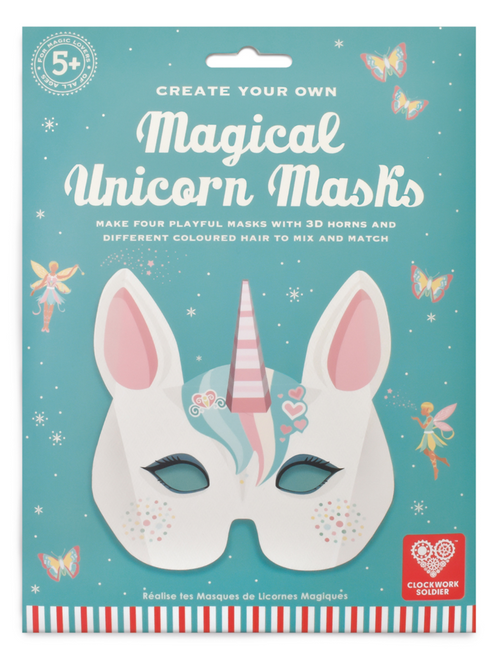 Magical Unicorn Mask - Create Your Own