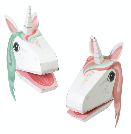 Unicorn Hand Puppets x2 - Create Your Own