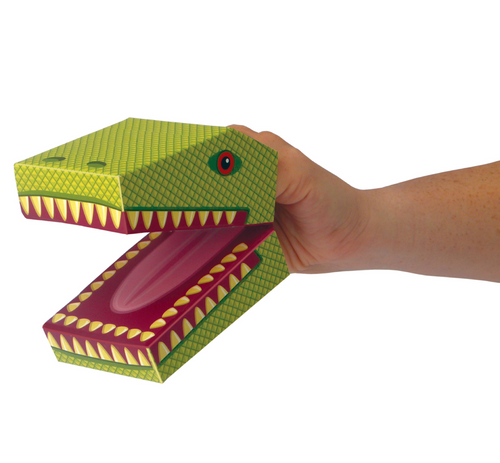 Dinosaur Hand Puppets x2 - Make Your Own