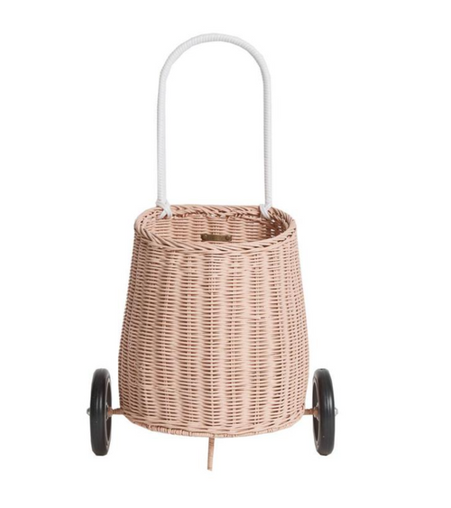 Rattan Luggy - Rose