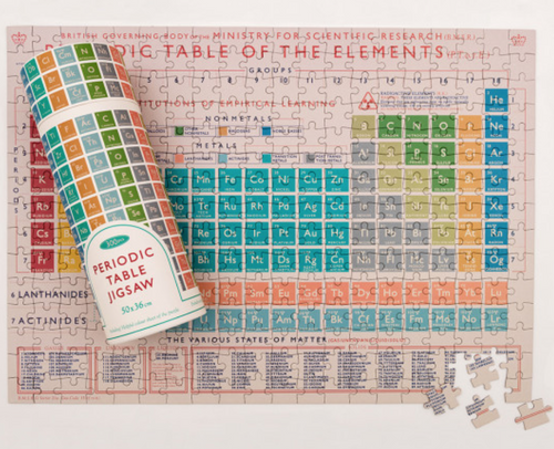 Periodic Table 300 Piece Jigsaw Puzzle