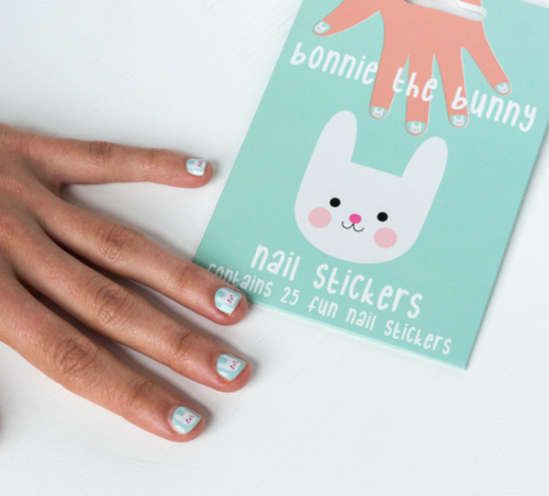 Bonnie the Bunny Nail Stickers (25)
