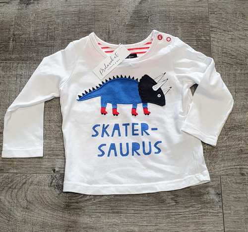 Joules LS Top age 6-9mths